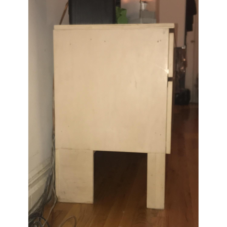 Gothic Cabinet Craft Modern Birch Wood Console