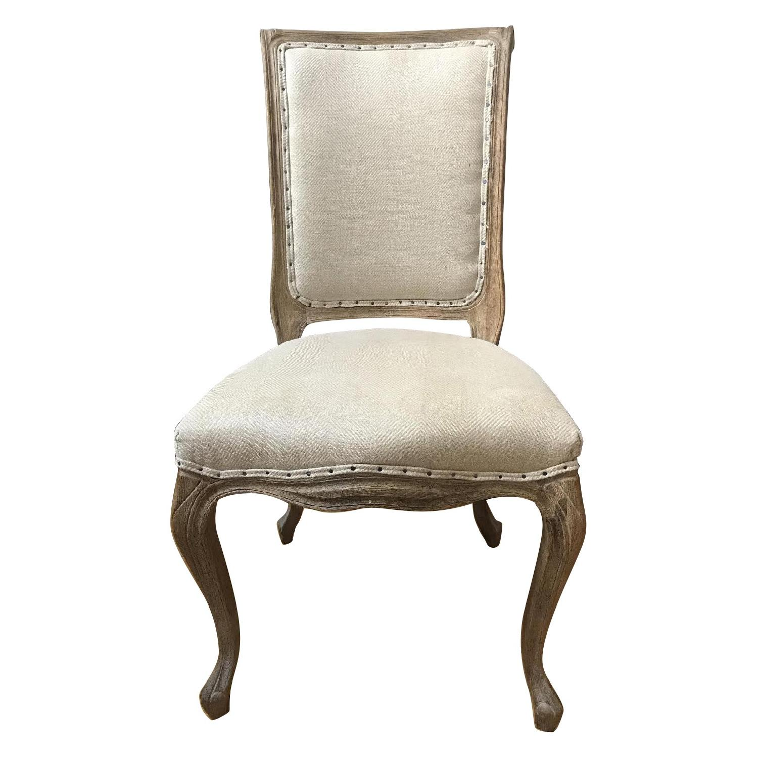 ABC Carpet And Home Upholstered Louis XV Style Dining Chairs ...