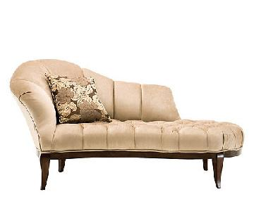 Raymour & Flanigan Maxine Tufted Chaise Couch