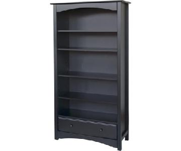 DaVinci MDB Solid Wood Black Bookcase