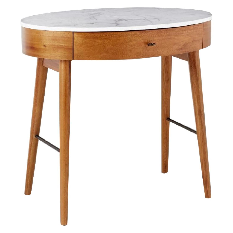 West Elm Penelope Mini Desk w/ Marble Top