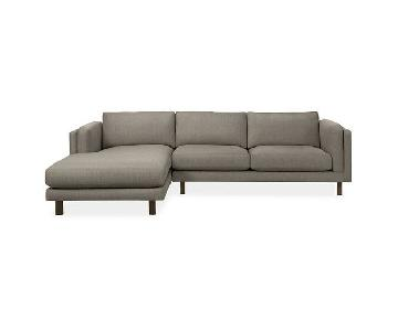 Room & Board Holden Chaise Sectional Sofa