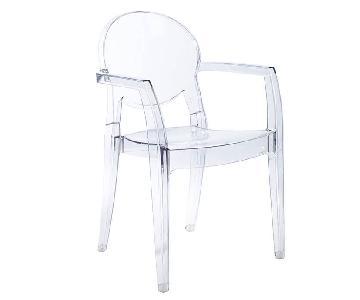 Eurostyle Acrylic Arm Chairs