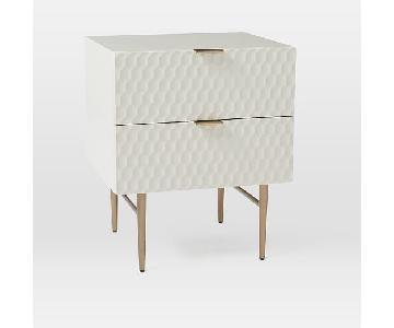 West Elm Audrey Nightstand in Parchment
