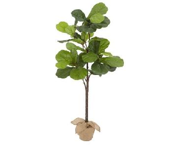 Pottery Barn Medium Faux Potted Fiddle Leaf Tree