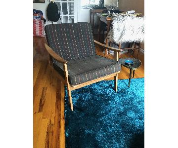 Vintage Mid Century Danish Arm Chair