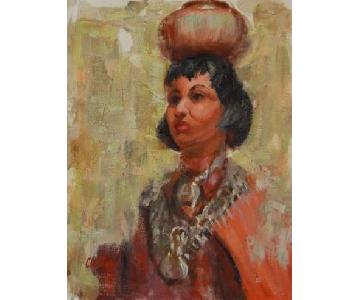 Jaes Clutter Native American Woman