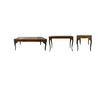 Designe Gallerie Melange Coffee + Console + End Tables