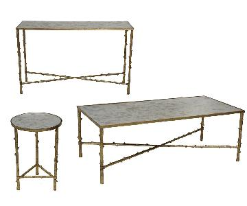 Designe Gallerie Glostrup Coffee + Console +Round End Tables
