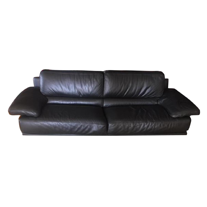 Bloomingdaleu0027s Chateau Du0027ax Italian Leather Sofa ...