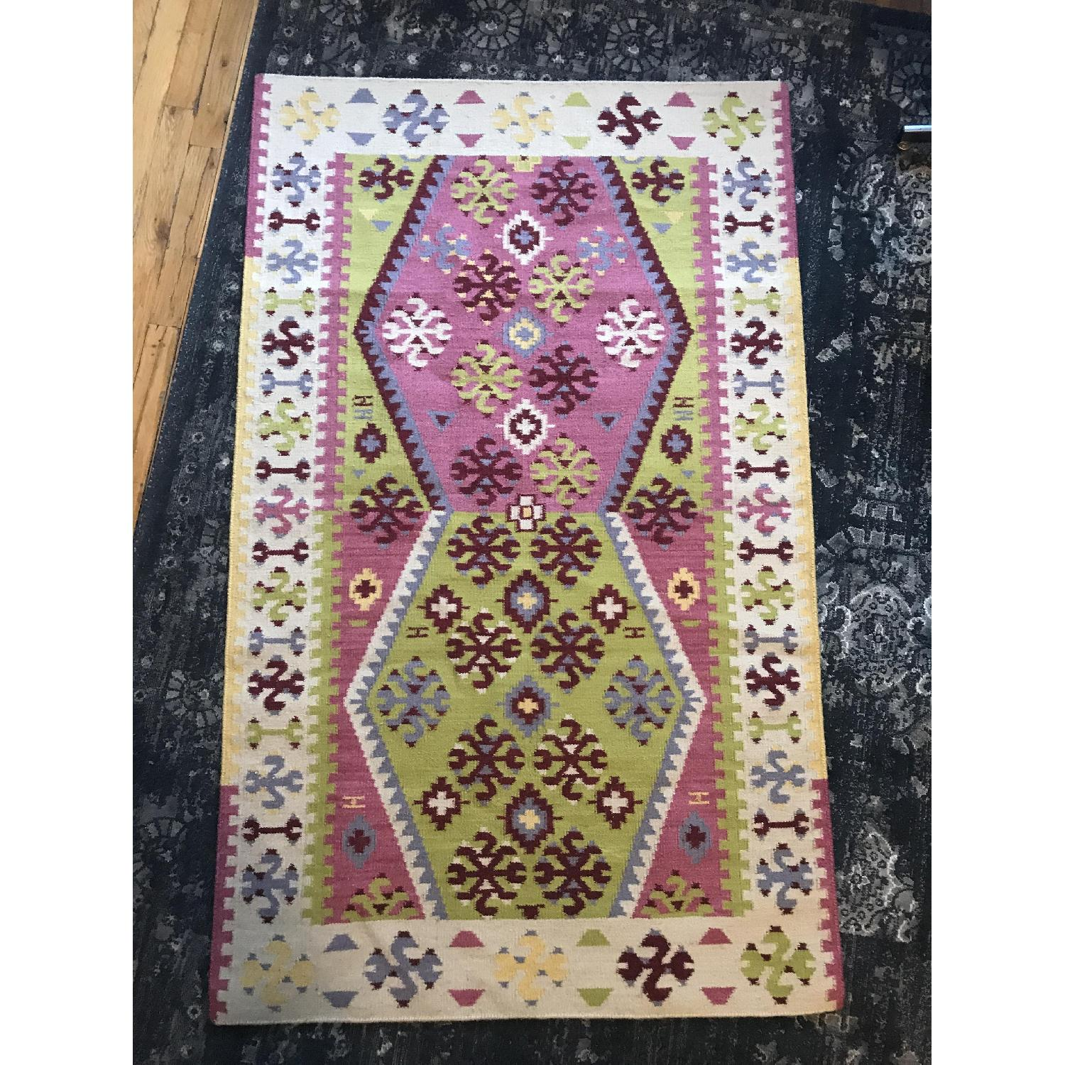 Dash & Albert Ikat Wool Rug-0