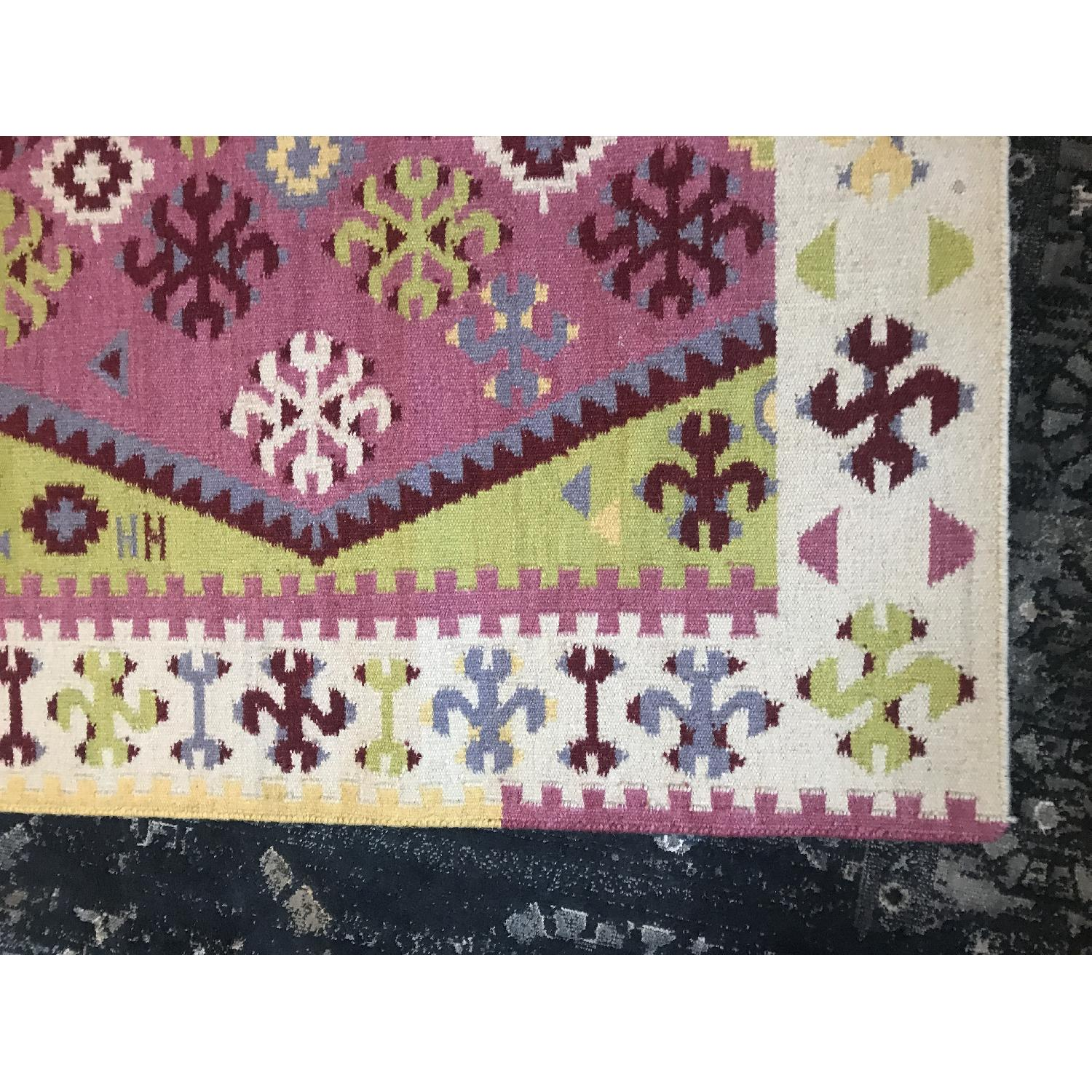Dash & Albert Ikat Wool Rug-1
