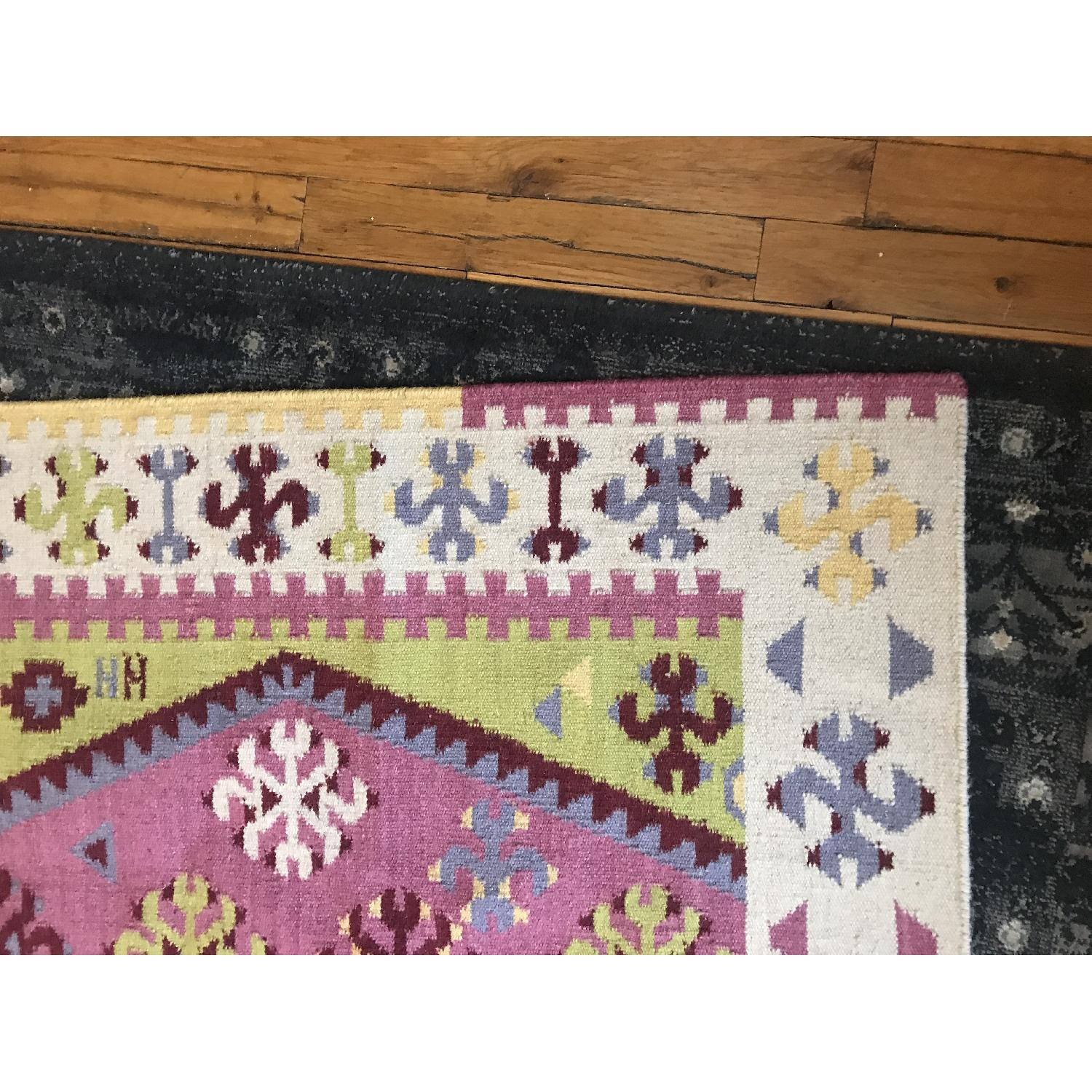 Dash & Albert Ikat Wool Rug-2