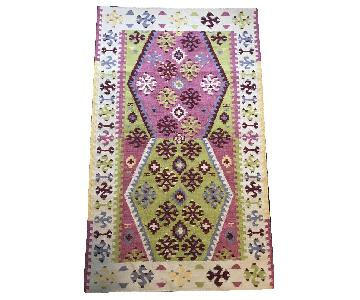 Dash & Albert Ikat Wool Rug