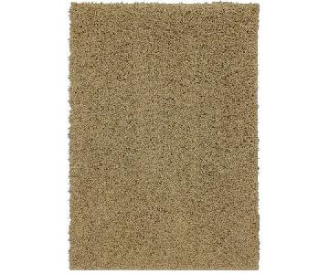 Mohawk Home Habitat Shag Area Rug in Soft Gold