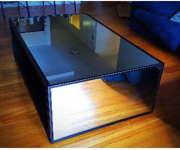 Restoration Hardware Mirrored Coffee Table
