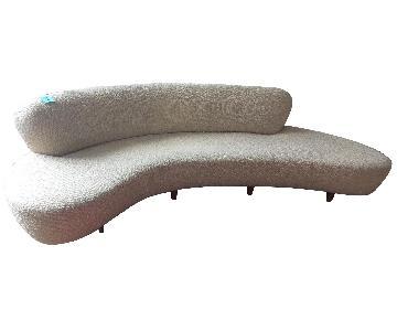 Vladimir Kagan Curved Sofa