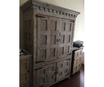 Custom Wood Armoire