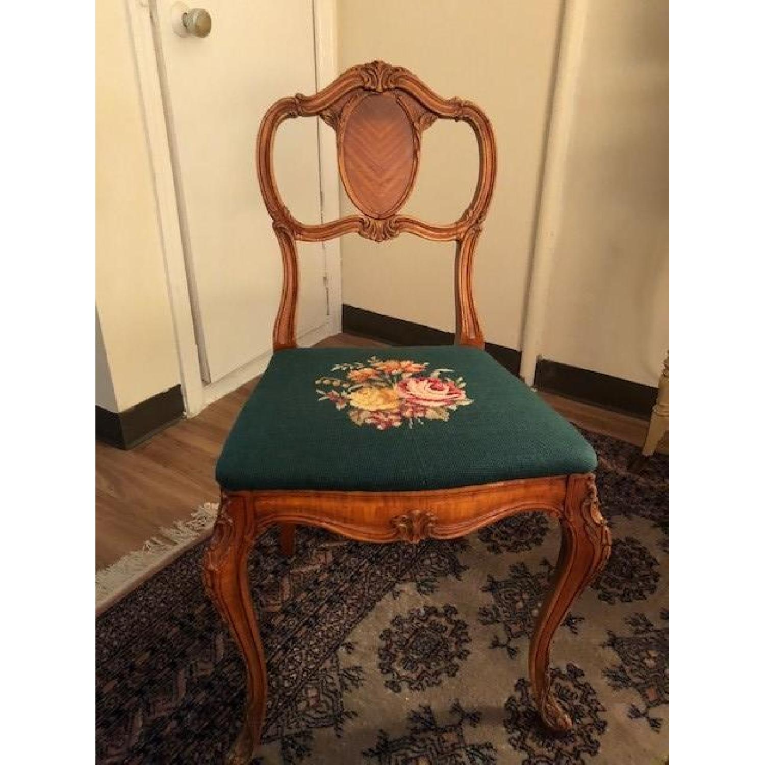 Victorian-Era American Ornate Accent Chair