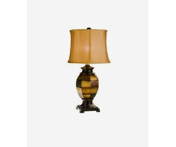 Raymour & Flanigan Patchwork Table Lamps