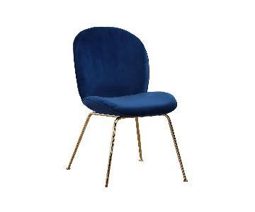 Meridian Paris Velvet Dining Chairs