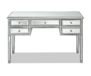 Bob's 5 Drawer Mirrored Desk