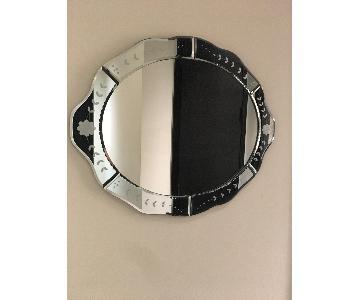 Target Antique Etched Mirror