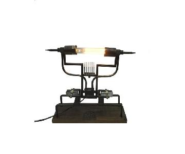 Designe Gallerie Delano Wooden Table Lamp