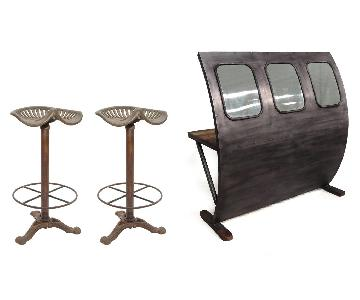 Designe Gallerie 3 Piece Clara Bar Set