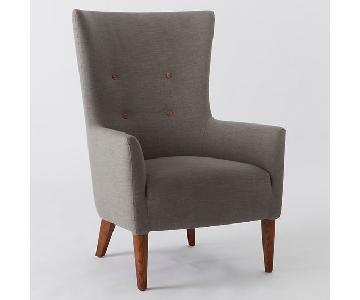 West Elm Wingback Chair