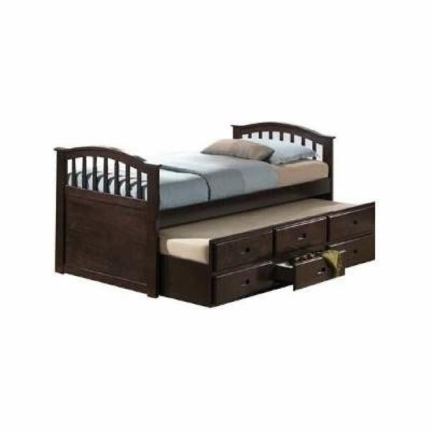 Acme Full Size Bed W Twin Trundle Aptdeco