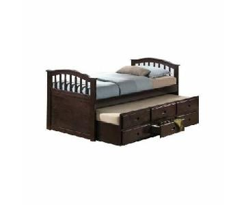 Acme Full Size Bed w/ Twin Trundle