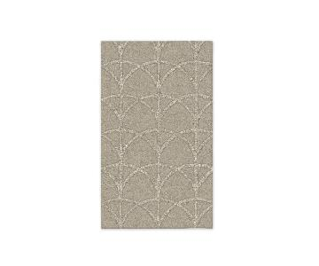 West Elm Scalloped Area Rug