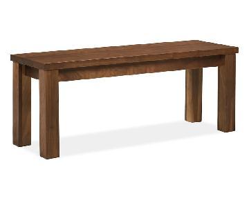 Room & Board Andover Solid Walnut Bench