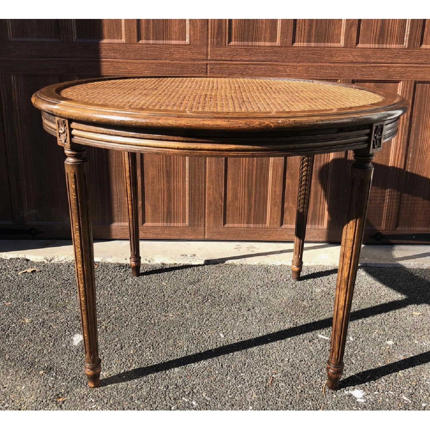French Walnut Dining/Center Hall Table