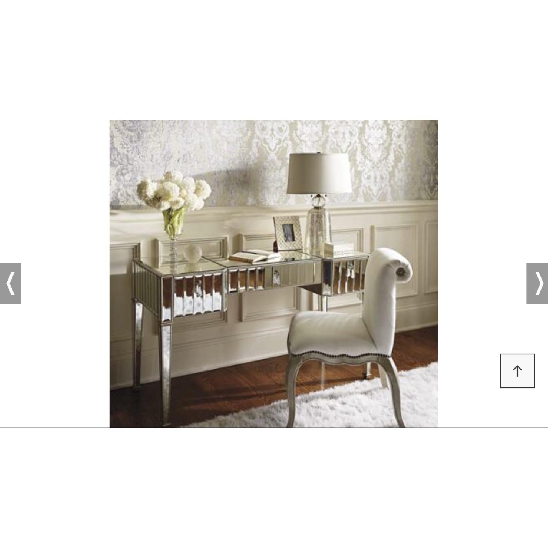 ... Frontgate Sloane Beveled Mirror Desk 2 ...