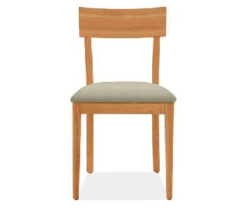 Room & Board Doyle Dining Chairs in Cherry
