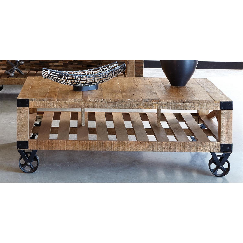 Industrial Workshop Style Coffee Table