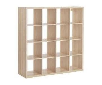 Ikea Kallax Shelving Unit w/ 4 Branas Baskets