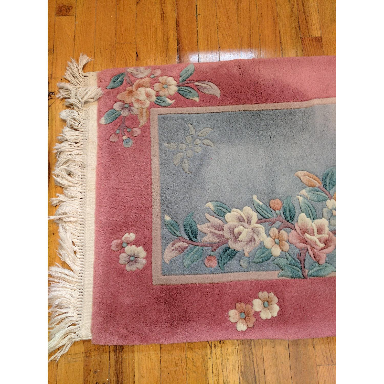 Hand-Woven Wool Oriental Runner