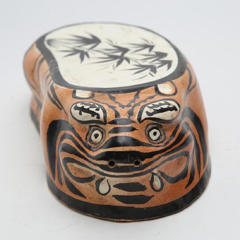 Jin Dynasty c. 1100 Crouching Tiger Cizhouware Pillow