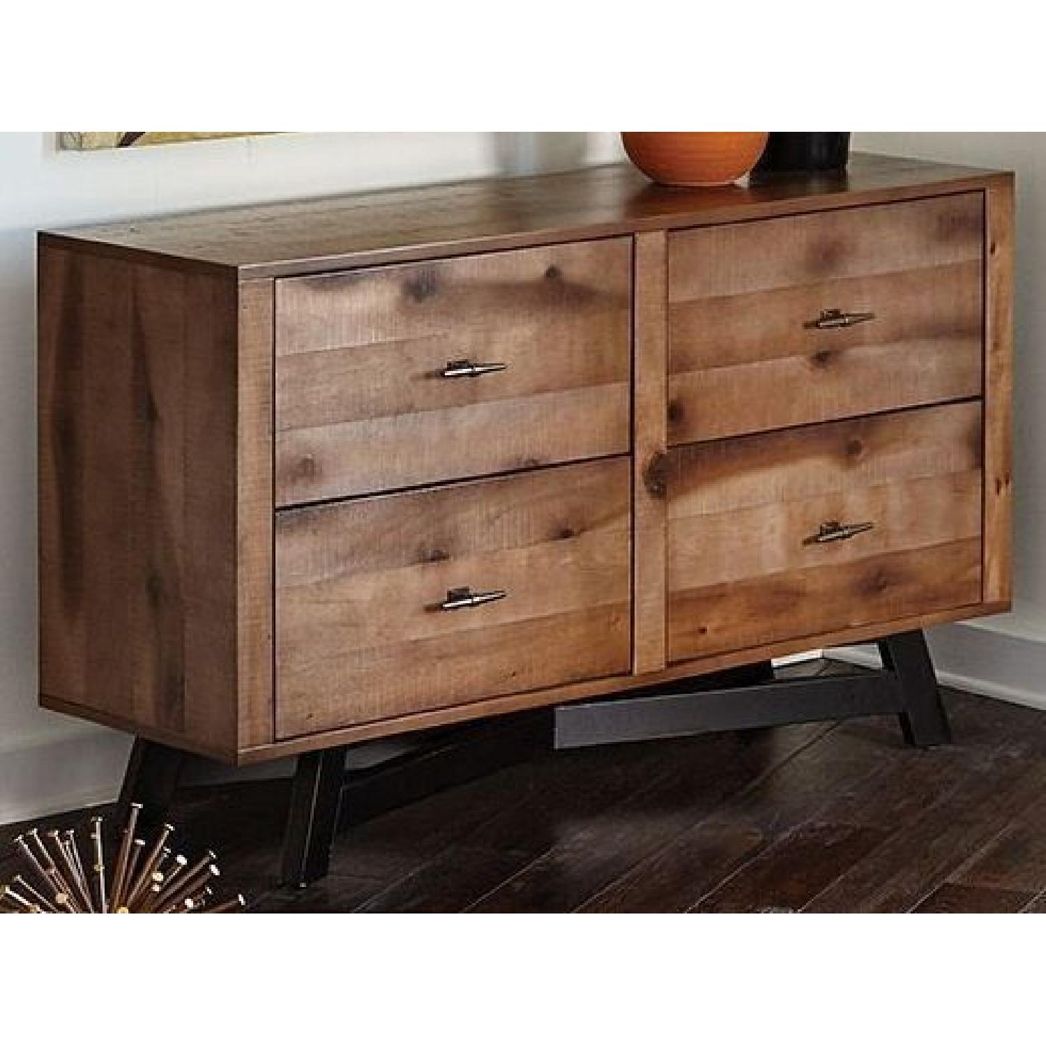 Accent Table w/ Storage Drawers