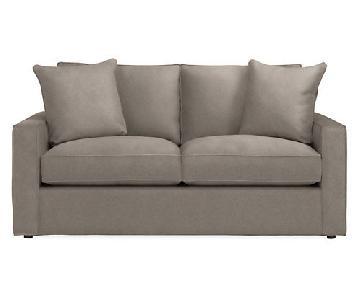 Room & Board York Sofa in Dawson Cement