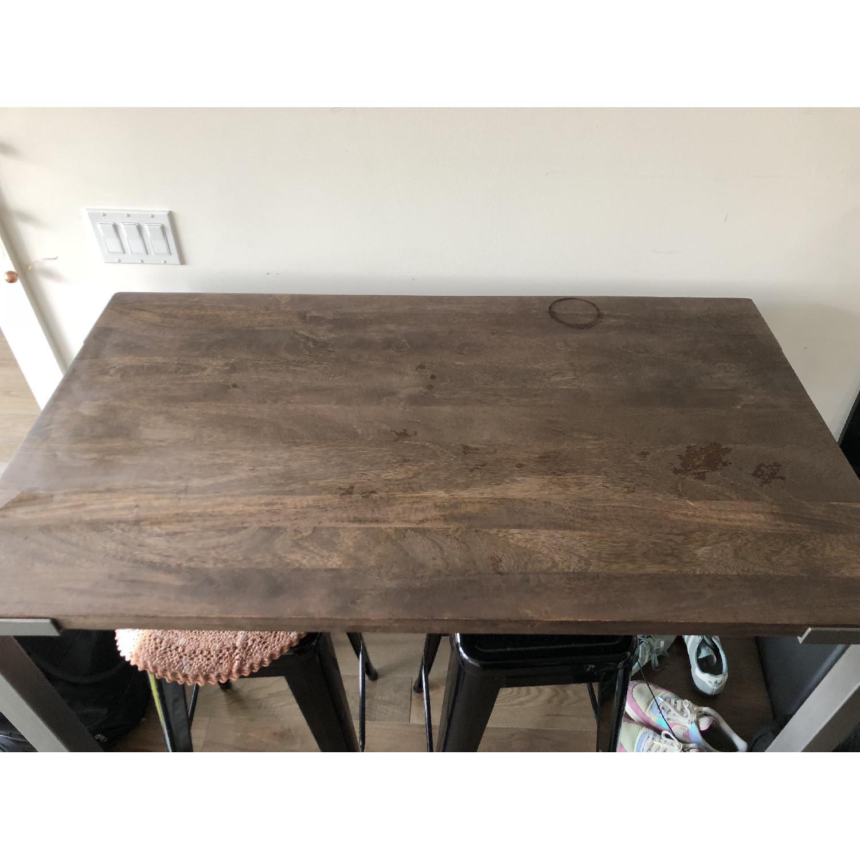 CB Stilt High Dining Table AptDeco - Cb2 high dining table