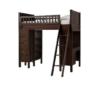 Pottery Barn Twin Loft Bed