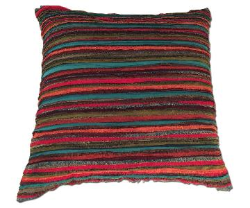 Bright Fabric Pillows