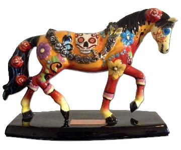 Dia De Los Muertos Horse of a Different Color Figurine