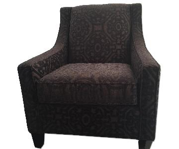 Raymour & Flanigan Cindy Crawford Calista Accent Chair
