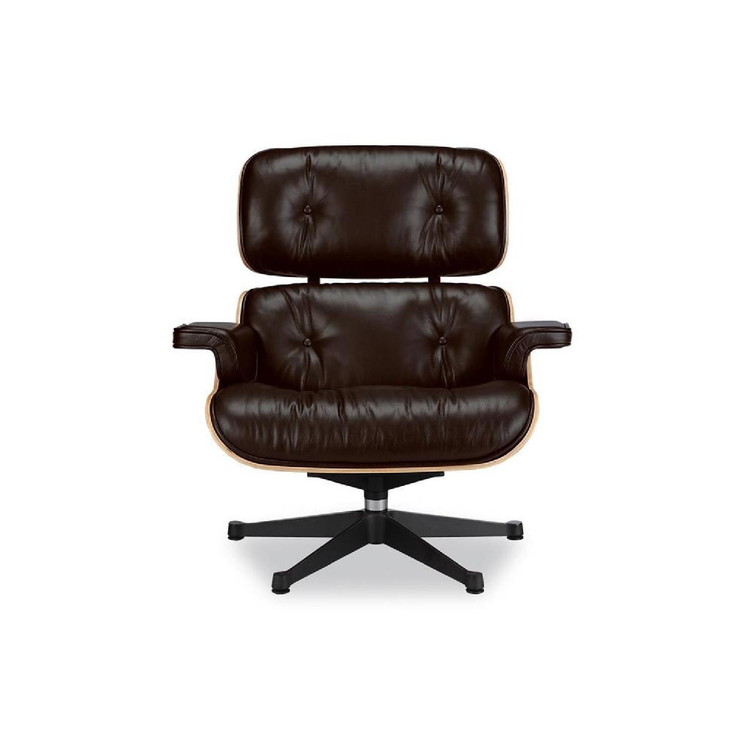Wondrous Eames Lounge Chair Replica In Brown Aptdeco Pabps2019 Chair Design Images Pabps2019Com