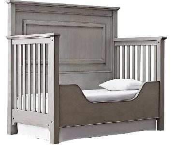 Restoration Hardware Marlowe Crib w/ Toddler Conversion Kit